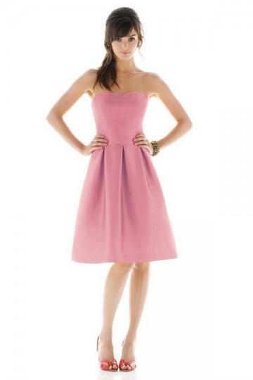 Buy cheap pink bridesmaid dresses UK online