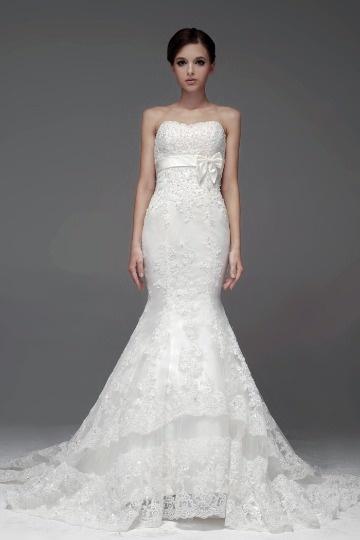 buy affordable mermaid style wedding dresses UK online