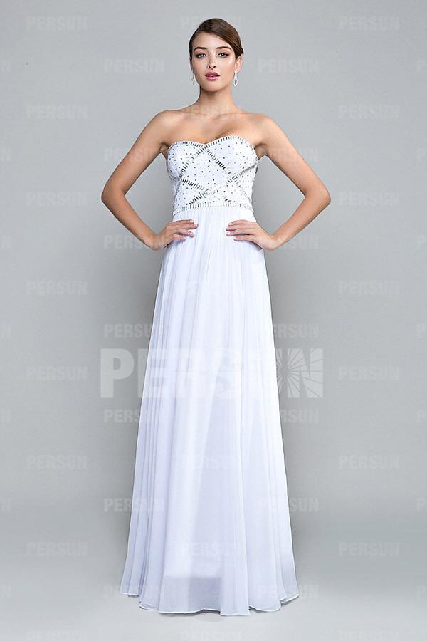 White Prom Dresses Cheap Uk 19