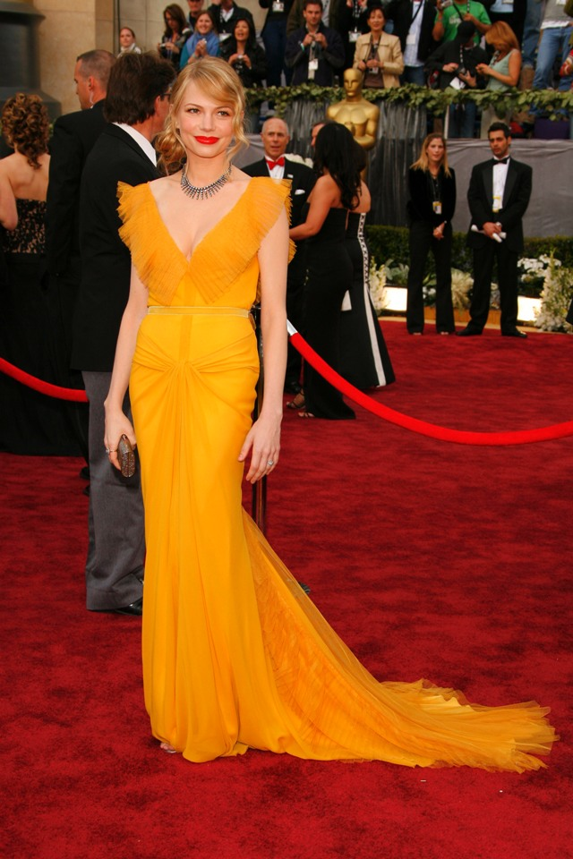 Michelle Williams red carpet dress