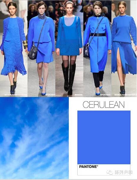 musk blue fashion dress