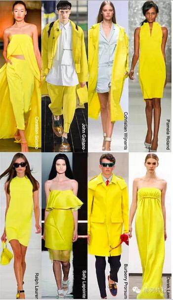 pink yellow fashion dress