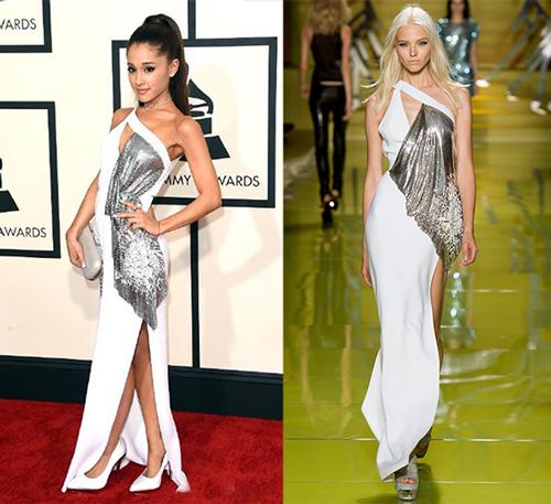 Ariana-Grande-glammy-look