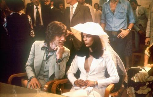 Bianca - Jagger wedding