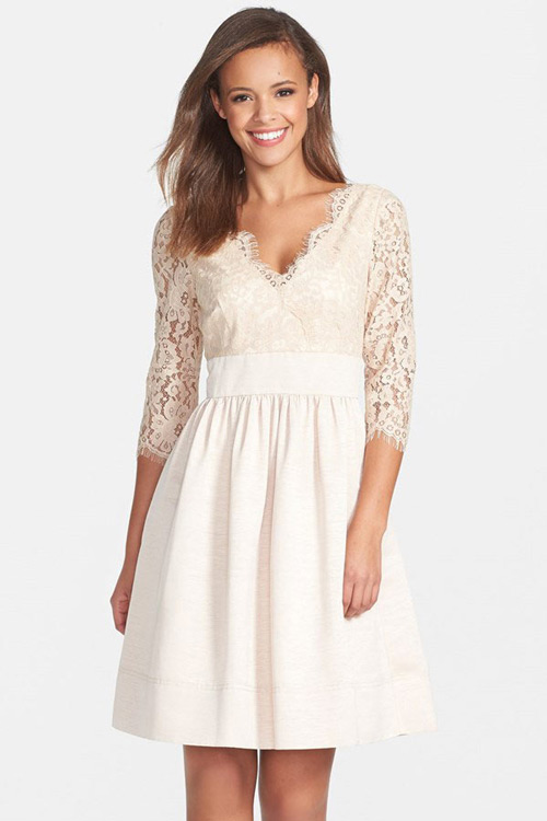 short-bridesmaid-gowns-with-sleeves