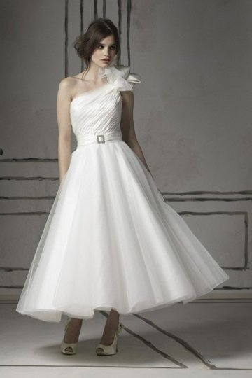 buy cheap one shoulder wedding dresses UK online