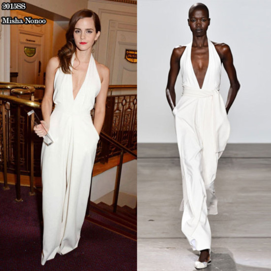 Emma sexy white jumpsuit
