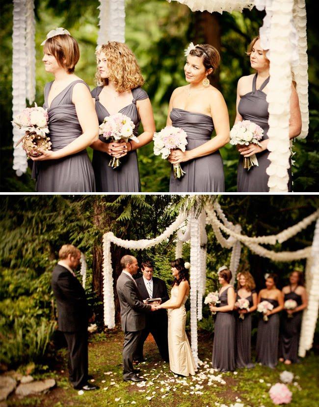 gray Bridesmaid Dresses UK