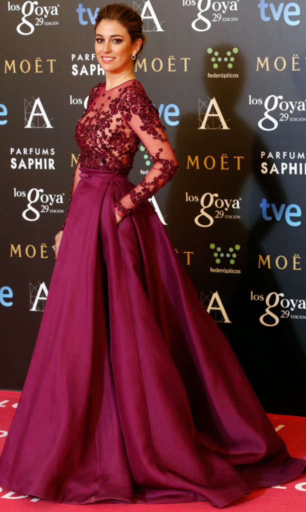 Blanca Suarez at Goya 2015