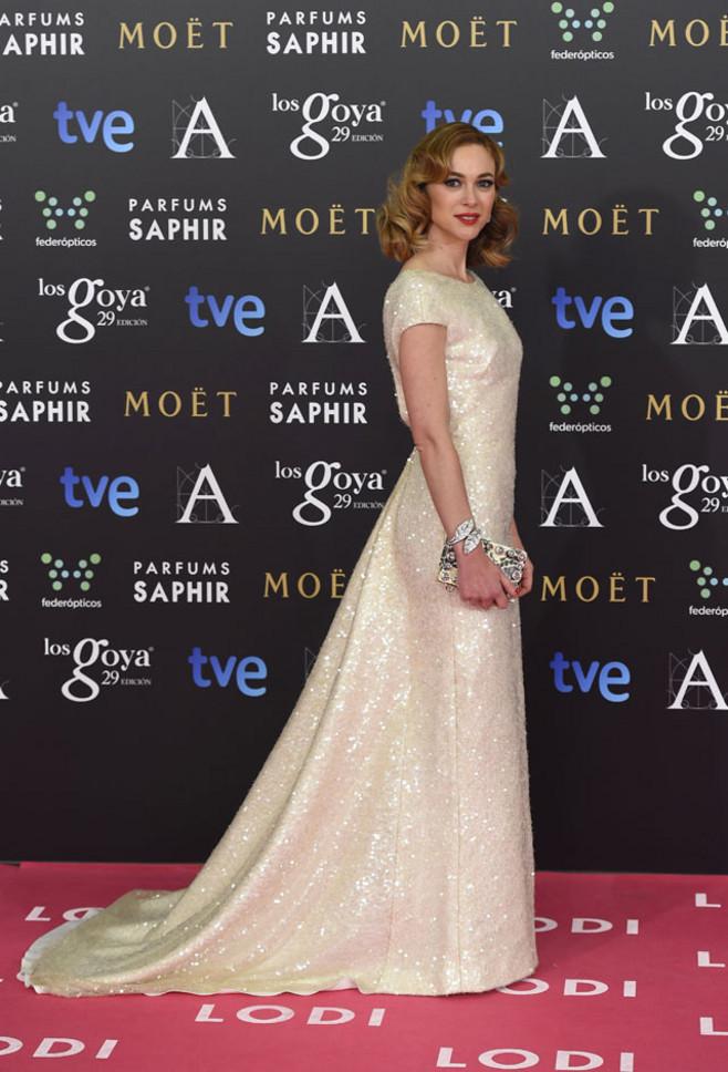 Marta Hazas goya dress
