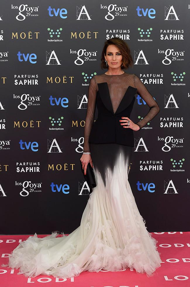 Nieves Alvarez black Formal Dresses