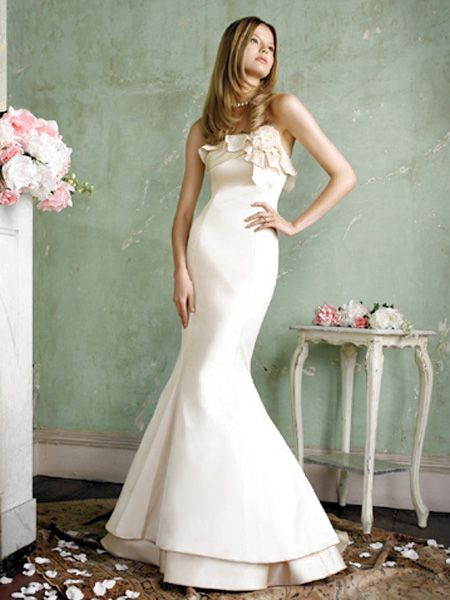 cheap fishtail wedding dresses