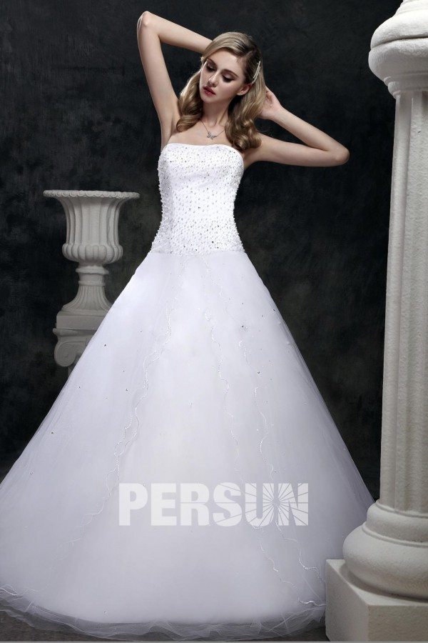 cheap princess style wedding gown